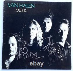 Van Halen signed album ou812 group autographed sammy hagar epperson loa