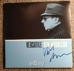 Van Morrison Autographed Record Album Versatile Psa Dna