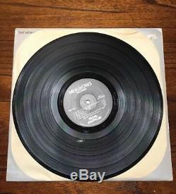 Vintage 1982 AUTOGRAPH Metal Massacre Record Album LP Newsted Ulrich Hetfield