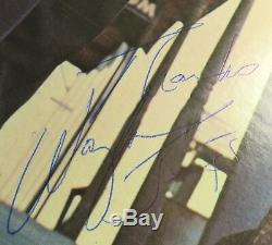 WAYLON JENNINGS Signed Autograph Ladies Love Outlaws Album Vinyl Record LP