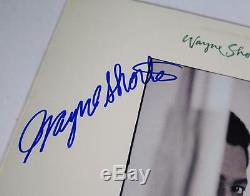 WAYNE SHORTER Signed Autograph Joy Ryder Album Vinyl Record LP Jazz