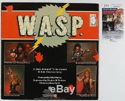 W. A. S. P. Signed Autograph JSA Record Album Vinyl Animal WASP