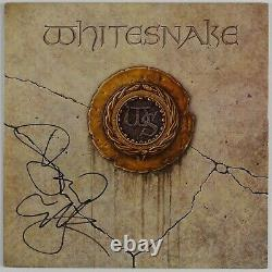 Whitesnake David Coverdale Signed LP Autograph JSA Album Record