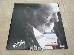 Willie Nelson To All The Girls Signed Autographed LP Album Record PSA Certified
